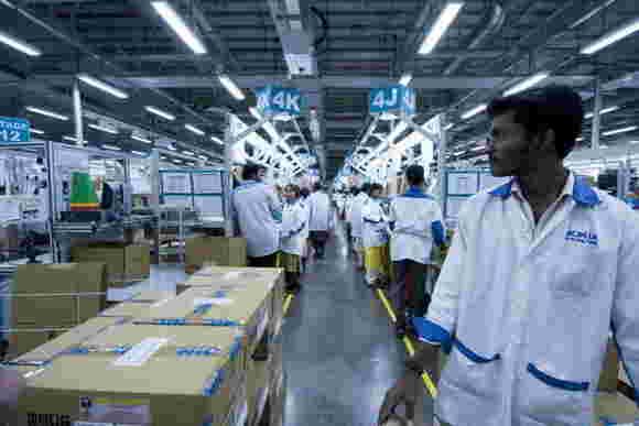 诺基亚的印度工厂可能不包括在微软交易中