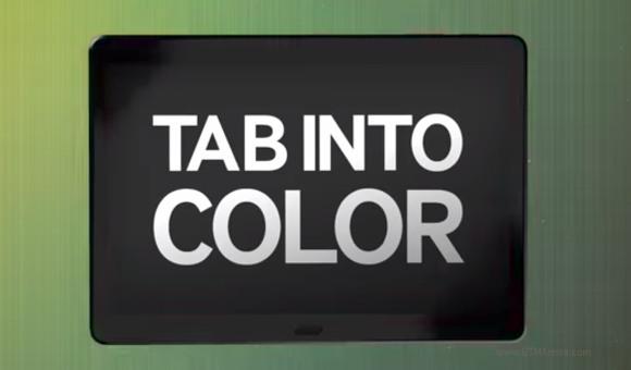 三星将前往Galaxy Tab S的公告