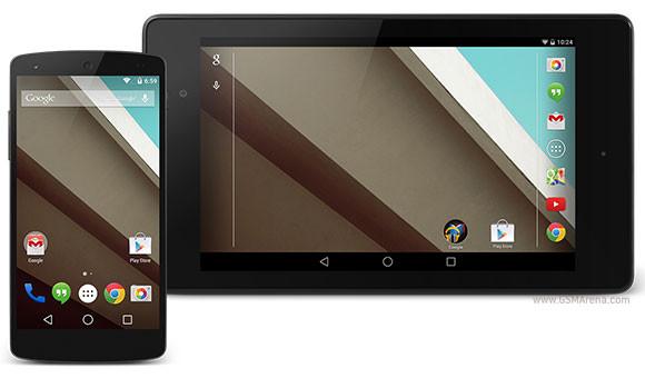 Android L开发人员预览Nexus 5和Nexus 7 rooted