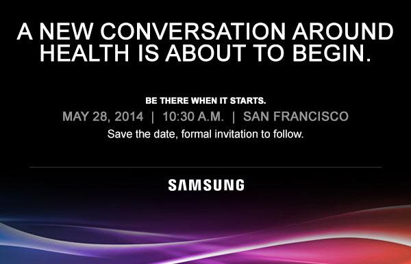 三星在5月28日在健康周围举办活动