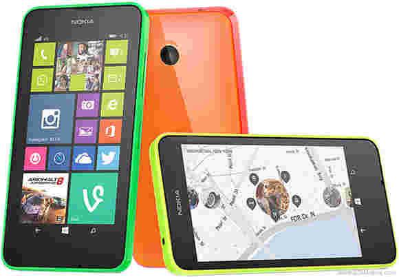 189美元的诺基亚4G Lumia 635