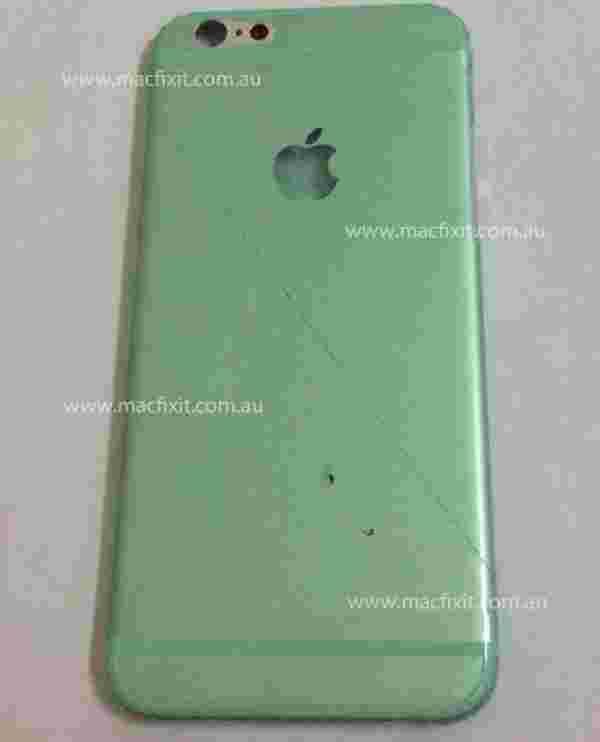 从即将到来的iPhone 6中所谓的shell被泄露