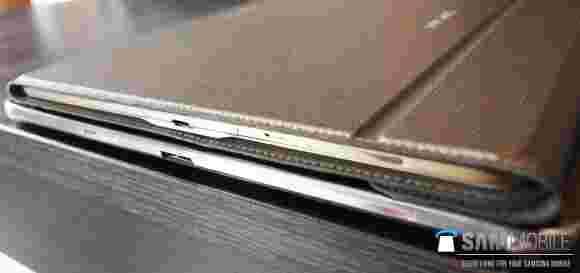 三星Galaxy Tab S泄漏伴随着翻盖