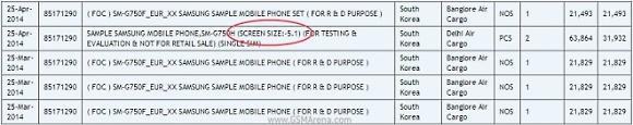 三星Galaxy S5 Neo再次泄漏,拖曳的5.1英寸展示