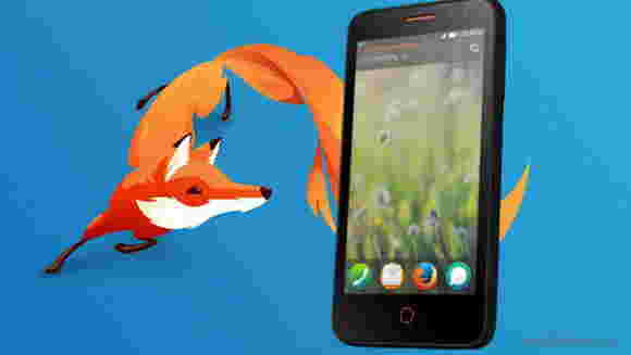 Firefox OS手机的火焰是今天的预订