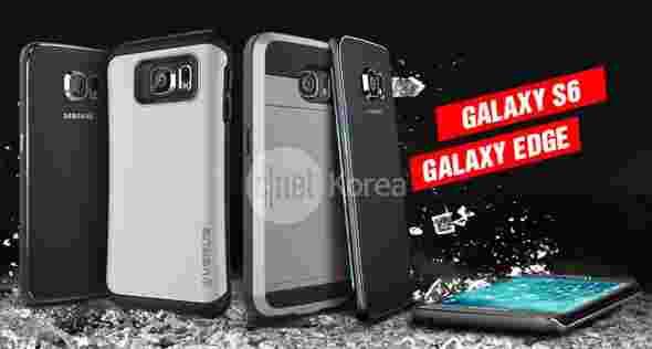 Galaxy S6案例泄漏确认存在双刃边缘