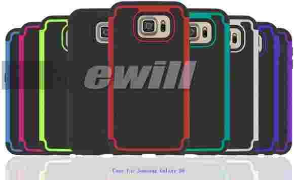 Samsung Galaxy S6在案件中的更多图像制作圆形