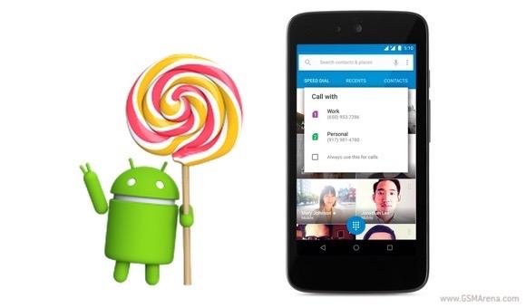 谷歌正式出去Android 5.1棒棒糖到兼容的设备