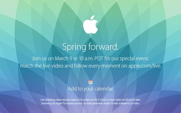 这就是Apple Spress Forward Event的期望