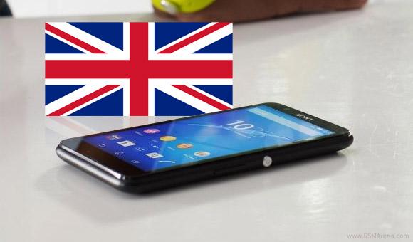 索尼XPERIA E4以100英镑在英国进行预订