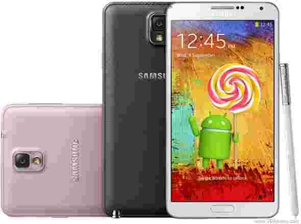 三星Galaxy Note 3 N9005在欧洲接受棒棒糖OTA