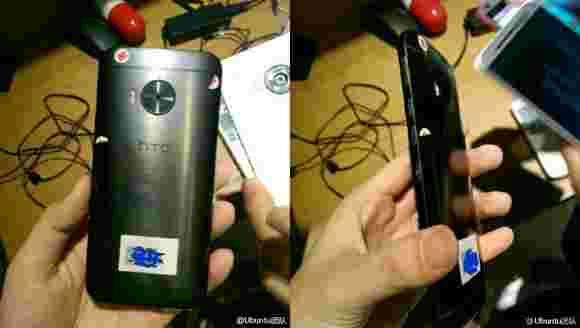 "HTC One M9 +测量显示5.2""屏幕的成本"