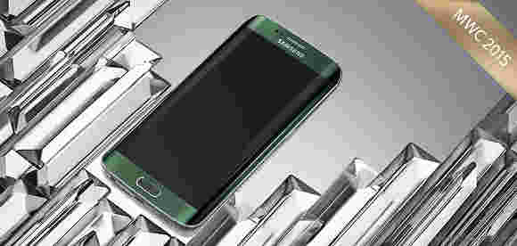 三星Galaxy S6 Edge是MWC 2015的最佳新手机