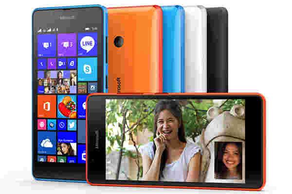 "Microsoft Lumia 540双SIM与5""720P显示屏亮相"