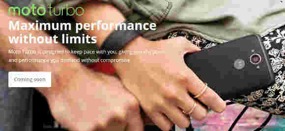 Moto Maxx将在印度发布为Moto Turbo