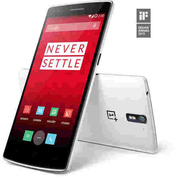 16GB OnePlus One Silk White在印度宣布306美元