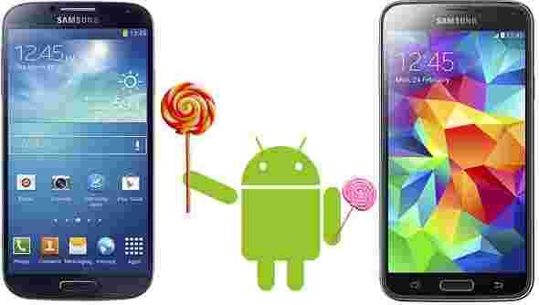 三星Galaxy S4和S5更新到达英国
