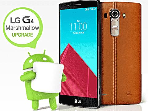 Sprint开始推出LG G4 Marshmallow更新