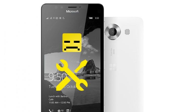 由于错误,Microsoft暂停了Lumia 950更新