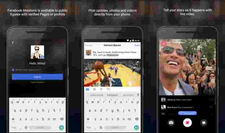 Facebook的Celeb-Commused提前应用程序到达Google Play