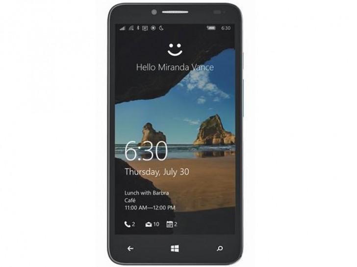 Alcatel与Windows 10的触摸激烈XL朝向T-Mobile