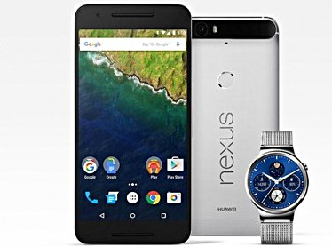 Google提供Nexus 6P买家Huawei Watch的50美元折扣