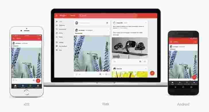 Google+获得了改造,侧重于集合和社区