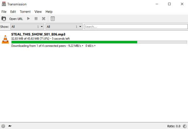 现在可用于Windows的传输BitTorrent客户端