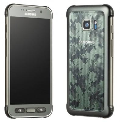 三星Galaxy S7与Camo Paintjob有效泄漏