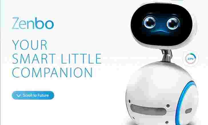 华硕Zenbo是一家旨在老年人的伴侣机器人