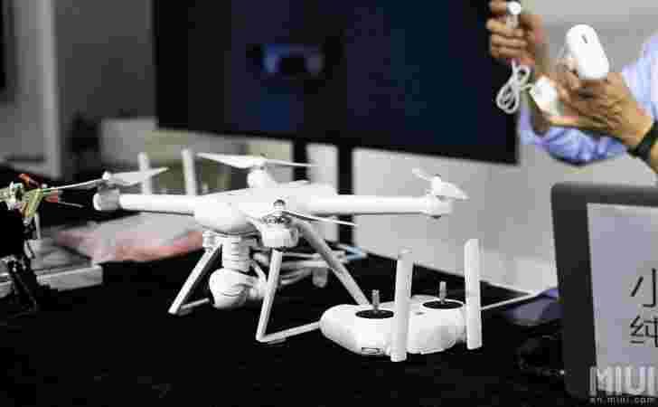 小米MI无人机在预算上承诺4K航空视频