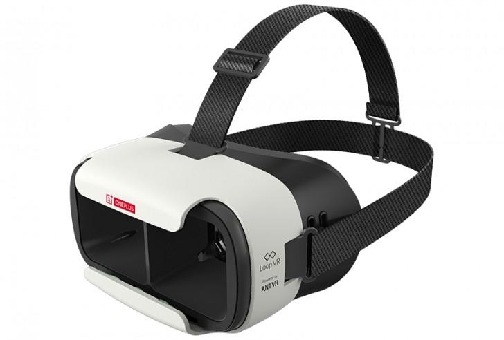 Loop VR耳机是oneplus 3发射的车辆,今年VR购物